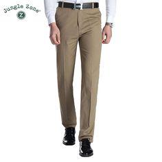 888b4ecd566 Khaki Men Trousers Casual Pants
