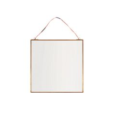 Add the perfect finishing touch to your home with this stunning Kiko mirror from Nkuku. Perfect for adding a rustic feel, this mirror features an antique copper frame with a charming ribbon to easily