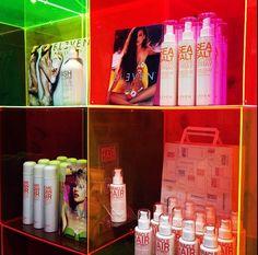 Sneak peak at ELEVEN Australia display at Salon Melbourne. Salon Melbourne, Australia, Display, Hair, Floor Space, Billboard, Strengthen Hair