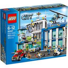 LEGO City Police Station Building Set (walmart 84.97)