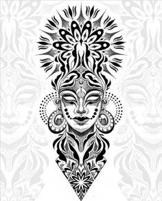 Geometric Tattoo Sleeve Designs, Geometric Tattoo Pattern, Geometric Mandala Tattoo, Tattoo Arm Designs, Mandala Pattern, Black And White Flower Tattoo, Black And Grey Tattoos, Leg Tattoos, Sleeve Tattoos