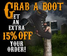 Get 15% off all boots at the workbootworld.com Labor Day Weekend Sale. Includes all regular and clearance priced items. Offer valid until November 2, 2015. Must use promo code: WBWHALL1515