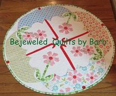 April Showers Table Topper by Barb Gaddy