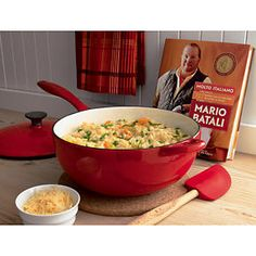 Some of the best cookware from one of my favorite chefs, Mario Batali. At Crate & Barrel.
