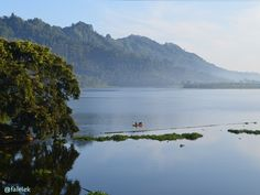 Selorejo Lake at Malang, East Java
