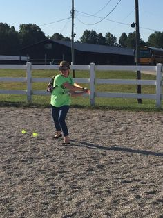 The challenge of hitting a whiffle ball while impaired with a Drunk Busters Beer Goggle!