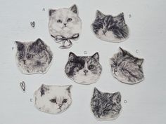 temporary tattoos  set of three fake cat tatts  7designs to choose from  realistic tattoos  mix and match. Temp tattoos   tattoos picture realistic temporary tattoos Crazy Cat Lady, Crazy Cats, Kitten Tattoo, Cat Tattoos, Ankle Tattoos, Arrow Tattoos, Friend Tattoos, Lynda Barry, Henna
