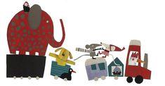 Ilustración de Carmen Queralt para Ventanas, un álbum ilustrado escrito por ella misma.  Ventanas es una de las novedades de la editorial Edelvives para la temporada de otoño y Navidad 2013.