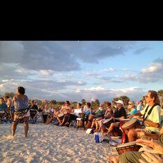 """Drum Circle"" Englewood Beach, FL Beach Town, Beach Bum, Manasota Key Florida, Englewood Beach, Dock House, Port Charlotte, Boat Slip, Gulf Of Mexico, Coastal Style"