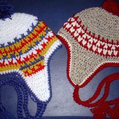 Crochet Winter Hats, by Jerre Lollman