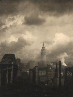 MARGARET BOURKE-WHITE  Terminal Tower, Cleveland. 1928