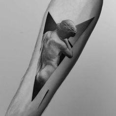 Une sélection des tatouages de l'artiste polonais Pawel Indulski, aka Dotyk, qui mélange tatouage moderne et esthétique classique dans de magnifiques cré