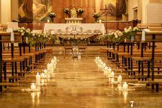 La esglesia de Vandellós fue un reto para 7 de Temps, la vestimos muy bonita, con sus flores, las velas,... todo preparado para Sergi&Taís. -boda-esglesia-wedding #boda #wedding #7detemps #colors #celebrate #ceremonia