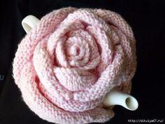 Items similar to Romantic Rose Tea Cozy. Fits 4 to 6 cup teapot. on Etsy - romantic rose Tea Cosy Knitting Pattern, Tea Cosy Pattern, Knitting Patterns, Crochet Patterns, Scarf Patterns, Knitting Tutorials, Crochet Kitchen, Crochet Home, Hand Crochet