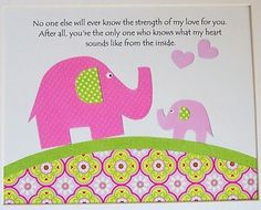 No one will ever know how very much I love you - Children's Room Art Decor Kids Wall Art Baby Girl by vtdesigns, $14.00