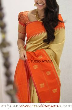 Rasika Exquisite Kanchipuram Designer Silk Saree from Studio Ayana!