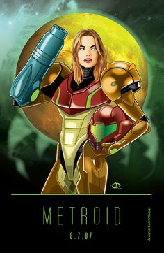 Metroid Poster by Tloessy.deviantart.com on @DeviantArt
