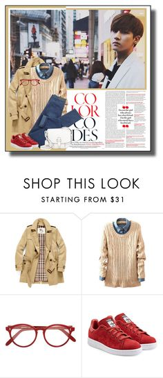 """""""#221"""" by explorer-14331536494 ❤ liked on Polyvore featuring Burberry, Cutler and Gross, adidas Originals and MICHAEL Michael Kors"""