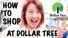 How To Shop At The Dollar Tree ! - YouTube
