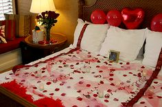 Nice 99 Cozy Bedroom Decorating Ideas For Valentines Day