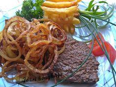 Hagymás rostélyos | Józsi konyhája Hungarian Food, Hungarian Recipes, Cooking Recipes, Favorite Recipes, Beef, Foods, Meals, Dishes, Drinks