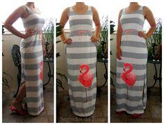 VA17- Pintura em vestido