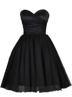 1f09ced359 Buy Classic Sweetheart Short Black Homecoming Dress with Pleats 2016  Homecoming Dresses under US  92.99
