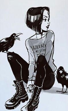 Imagen de raven, teen titans, and art Teen Titans Raven, Teen Titans Go, Character Inspiration, Character Art, Comic Art, Art Sketches, Art Drawings, Gabriel Picolo, Comics Und Cartoons