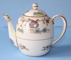 ROYAL WORCESTER Crown ware  PEKIN  TEAPOT   capacity 390ml / 0.68 pints #TeaPot