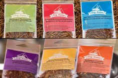 Entomo Farms - Eat bugs, eat insects, buy crickets here, buy mealworms here http://entomofarms.com/product/bug-bistro-flavoured-mealworms-and-crickets-all-assorted/