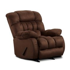 Chelsea Home Furniture Milo Recliner Softsuede Fudge
