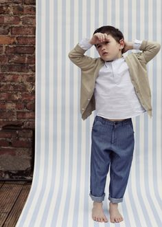 Love this boys summer outfit, comfortable yet smart. by Poppy Rose for SS14, sizes up to 14 years.