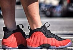 Red Suede Nike Air Foamposite One
