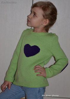 2Мои работы девочкам: кофты, свитера, туники, платья, комплекты Салатовый свитер