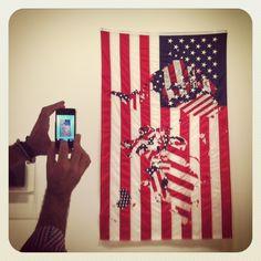 Jonathan Monk #CAC Ca C, Carpets, Fabrics, Flag, Instagram, Farmhouse Rugs, Tejidos, Rugs, Fabric