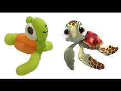 Balloon sea turtle Squirt of Finding Nemo #balloon #bee #balloonanimals #balloontwisting #balloonart #balloonmodelling #tutorial #nemo #findingnemo #cartoon #squirt