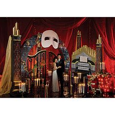 Our Music of the Night Decorating Theme Kit adds romance and intrigue to your evening.