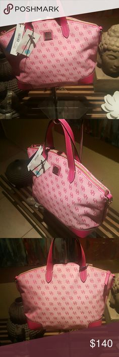 Dooney and Bourke handbag Nwt Dooney  and Bourke pink ladies handbag Dooney  and Bourke Bags Satchels