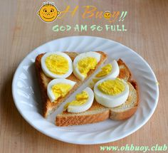 #Egghead #Toast (Masala) Scrambled #egg toast with a dash of onion & green chilly. Melts all the Way at #OhBuoy