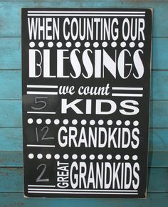 Grandparents Sign, Gift for Grandparents, Grandparent Gift, Christmas Gift, Home… Craft Gifts, Cute Gifts, Christmas Gifts, Black Chalkboard Paint, Be Light, Free Message, Grandma And Grandpa, Grandmother Quotes, Grandparents Day