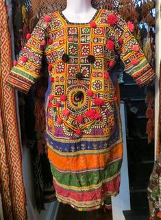 Outrageous Kuchi Banjara Dress with all the by GILDASCLOSET