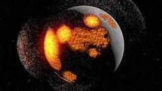 Informal division of Precambrian time occurring between about 4.6 billion and about 4.0 billion years ago. The Hadean Eon is characterized by Earth 's initial formation—from the...