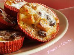 muffins di mele e uvetta