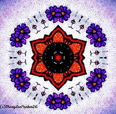 http://fineartamerica.com/featured/spring-flowers-marylee-parker.html?newartwork=true# sale # Spring #flowers #Kaleidoscope