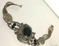 Винтаж: Браслет Австро Венгрия серебро 809 Antique Jewelry, Charmed, Antiques, Bracelets, Fashion, Old Jewelry, Antiquities, Moda, Antique