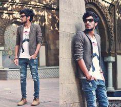 Men's casual street style.  | Mens Casual Fashion #howmendress #menswear #mensfashion