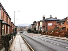 Ainsworth Road  Looking downhill, towards Bolton Road and Water Street.