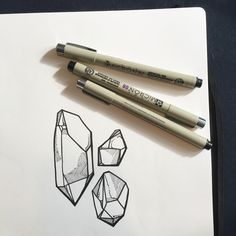 illustration, illustration of the day, crystals, handmade, practice, sketch, art, arte, instaartist, instaart, ink, pen and ink, my art, art of the day, drawing, draw, sketchbook, moleskin, collaboration, pen and paper, natures beauty, micron pens, nature, photography, illustrate, design, minimalistic