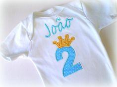 Camiseta Ou Body  - Pequeno Príncipe | MARIA AMORA | 2EF052 - Elo7