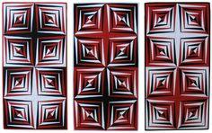 2006 Blurs-BR by Gerda de Vries QUILT ARTIST AND MATHEMATICIAN http://www.telusplanet.net/public/gdevries/galleries/gallery/cyclic-permutations-2005.html#previous-photo